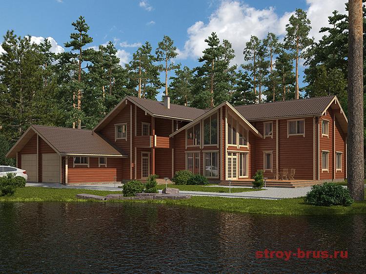 Финские деревянные дома из бруса
