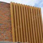 Клееный брус преображает фасад