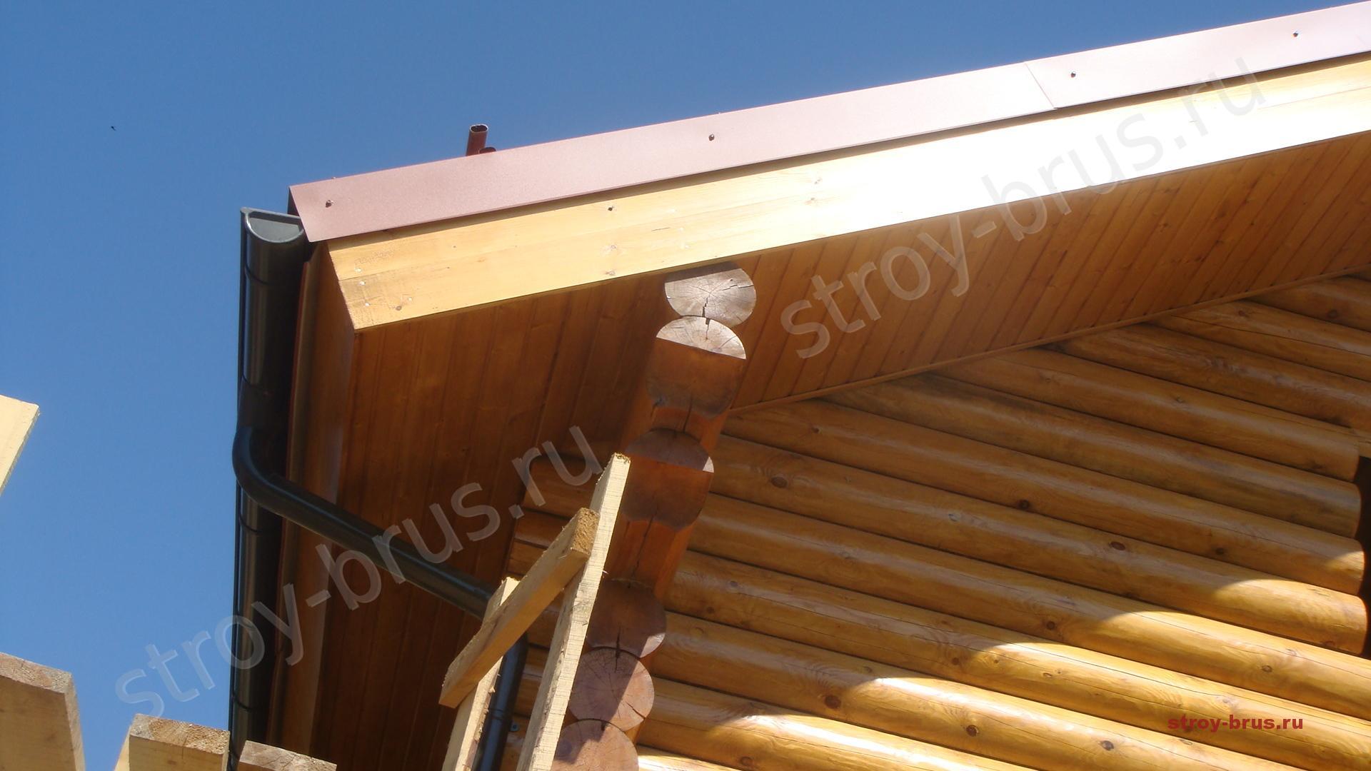 Подшивка карниза крыши своими руками Строительный портал 97