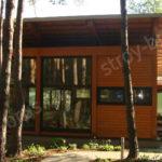 Дом для гостей из клееного бруса
