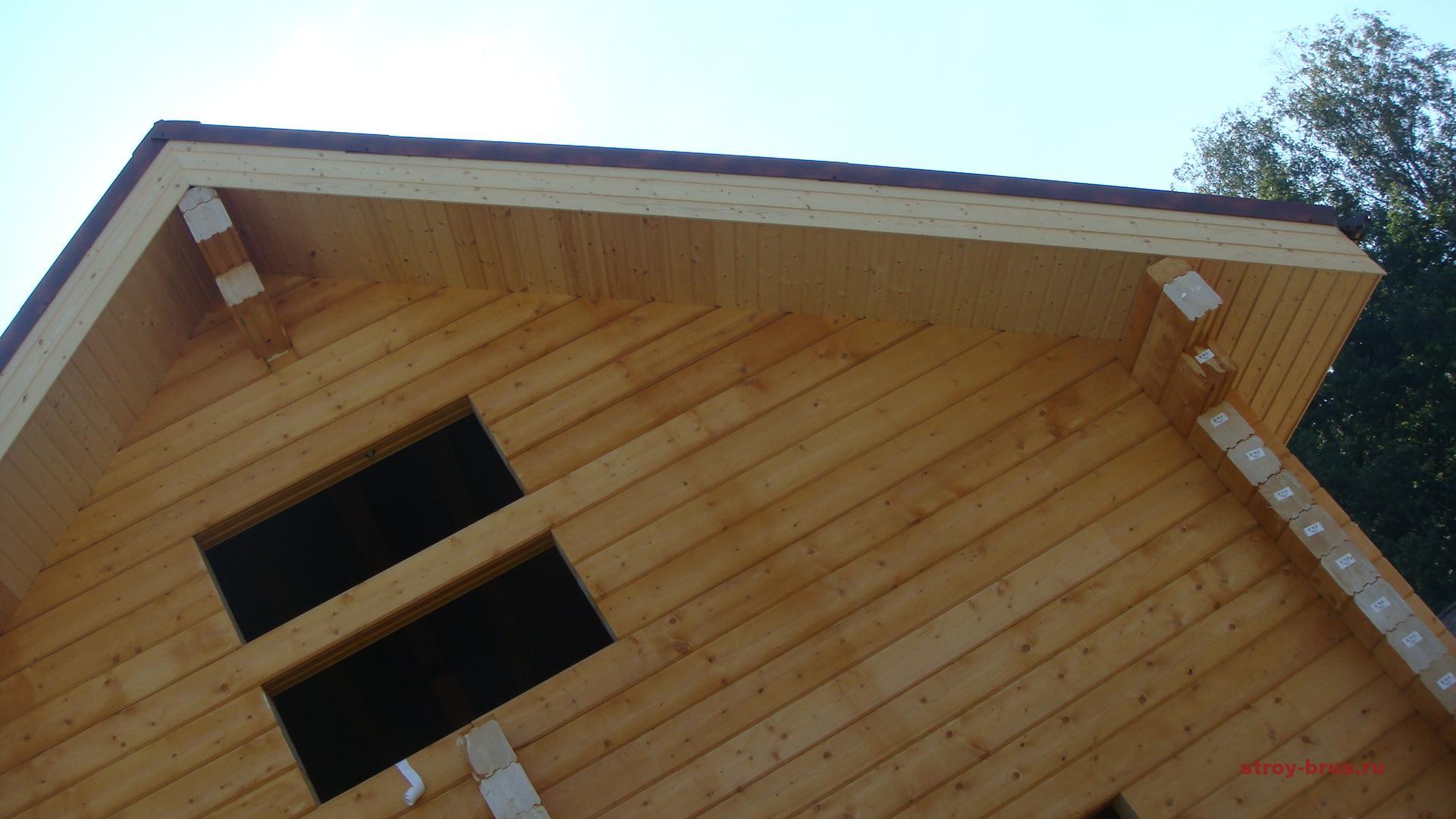 Подшивка карниза крыши своими руками Строительный портал 3