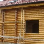Фасад дома после покраски