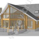 Дом Грант в 3D