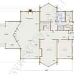 План первого этажа в доме Гранд