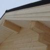 Подшив карнизов крыши