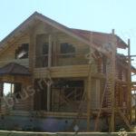 Фасад на завершающем этапе работ