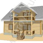 Деревянный дом Отдых