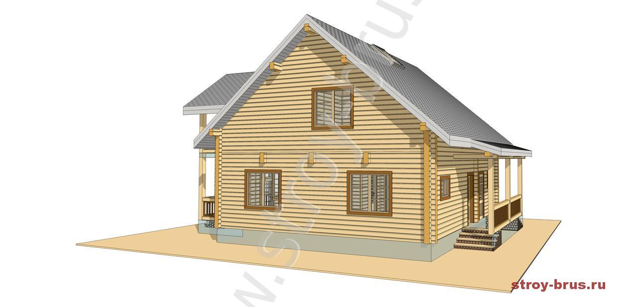3D-изображение дома Отдых