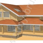 Проект дома Каскад