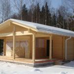 Возможности применения клееного бруса в строительстве бань