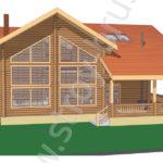 Проект дома Семейный в 3D