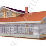 Проект дома Лесничий