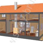 Проект Павильон в 3D