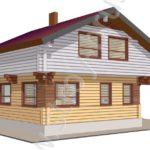 Деревянный дом Консоль