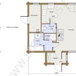План первого этажа в доме Консоль