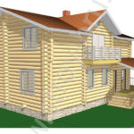 3D-модель дома Фараон