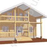 3D-модель дома Куб
