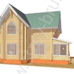 Деревянный дом Терем