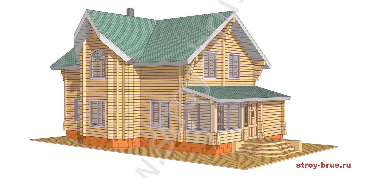 Проект дома Терем