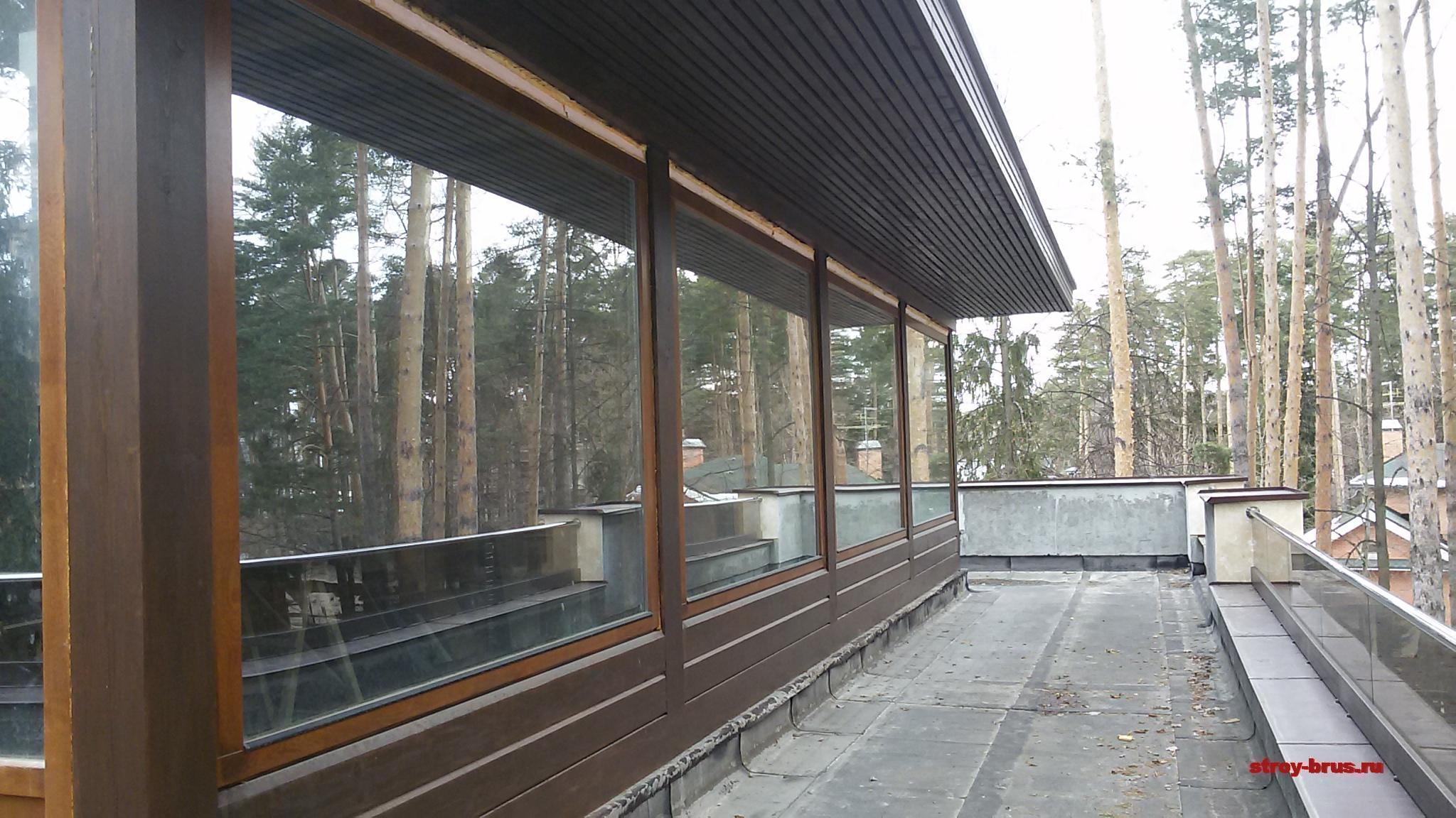 Экологичный этаж из кедра