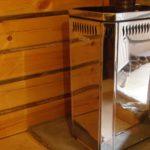 Какая печь подойдет для деревянной бани?