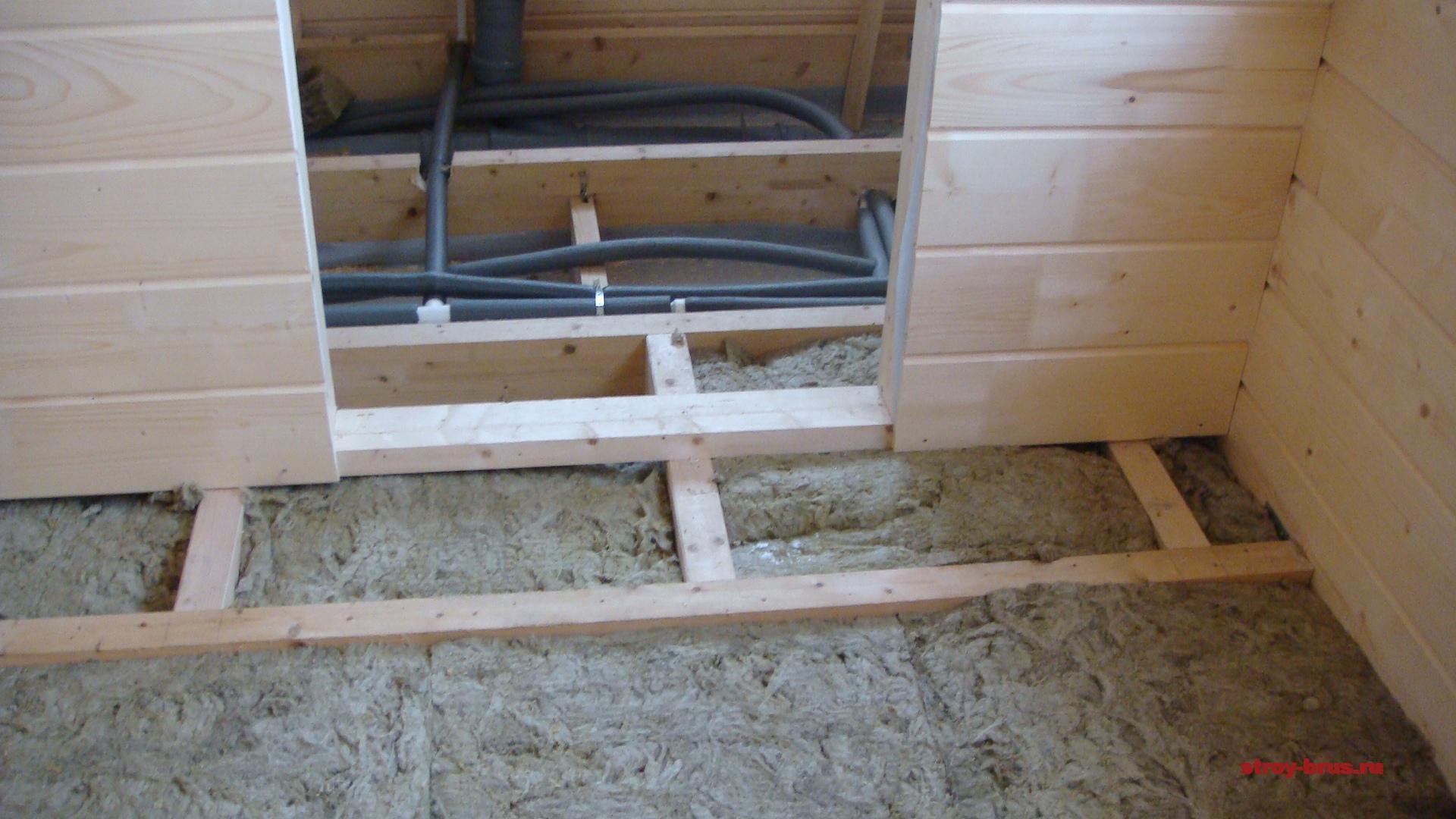 Прокладка инженерных систем в деревянном доме