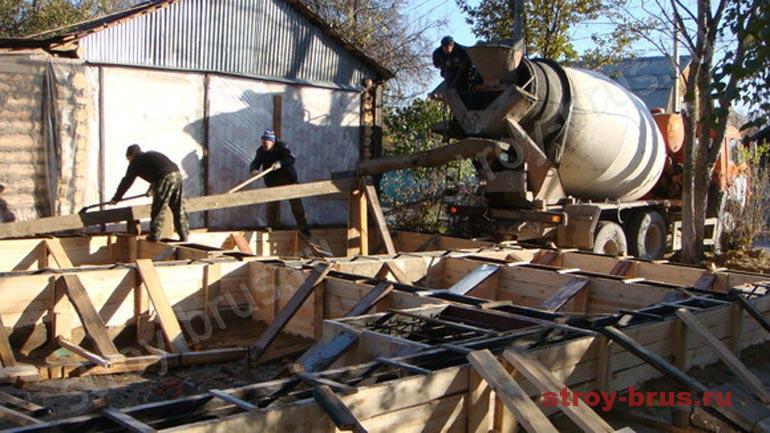 Пошаговая инструкция по бетонированию фундамента