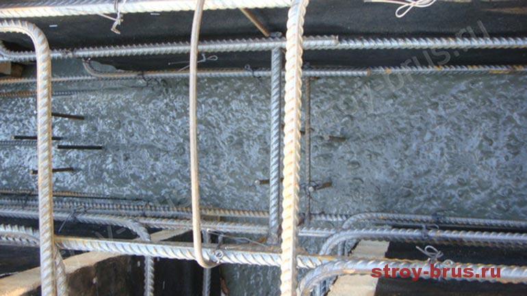 Как выглядит бетонирование фундамента