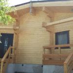 Дом из клееного бруса для ПМЖ