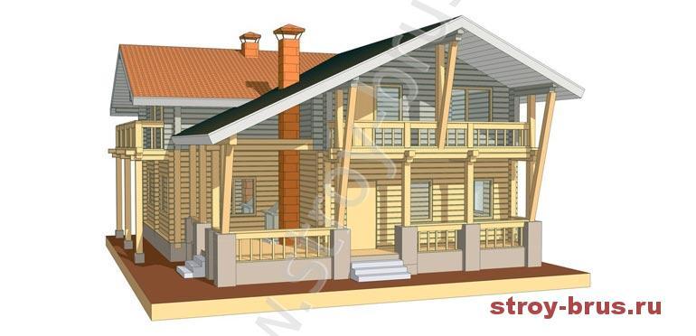 Штандарт - дом из клееного бруса