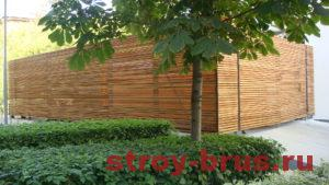 Пример реконструкции деревянных конструкций