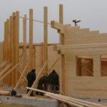 Этапы сборки дома из древесины