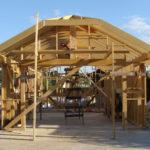 Фото строительства домов из дерева