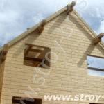 Фронтоны деревянных домов