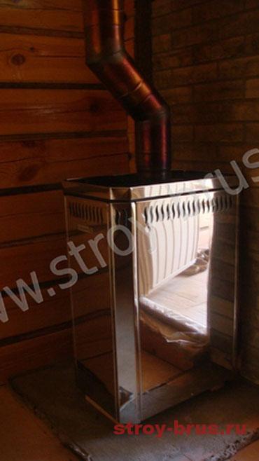 Примеры фундамента под печь в бане