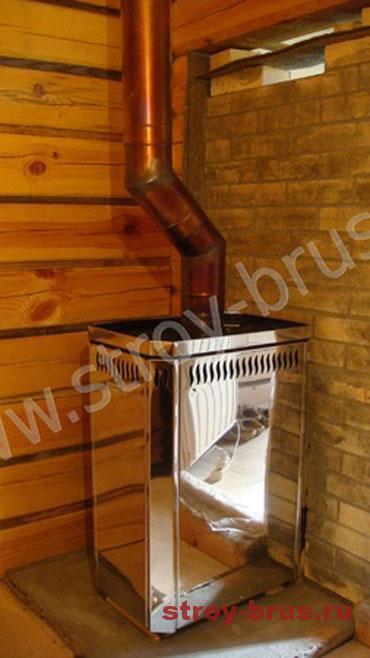 Способы закладки фундамента под печь в бане