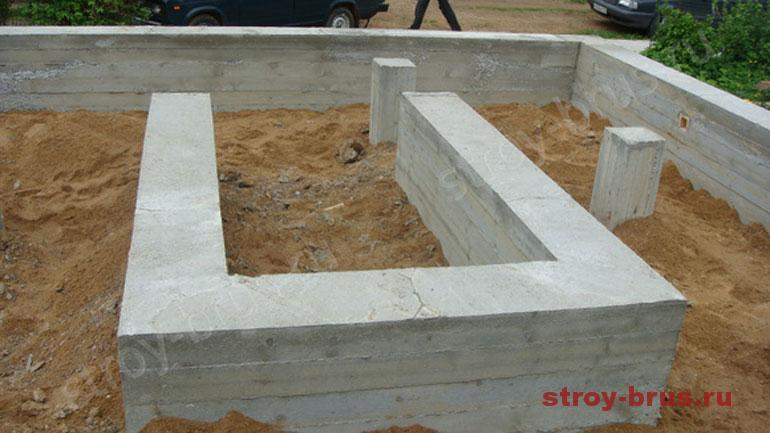 Как рассчитать фундамент для деревянного дома