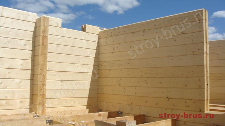 Как правильно производить монтаж стен домокомплекта из бруса