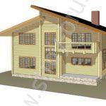 Строительство из клееного бруса - дом за 4 700 000 рублей
