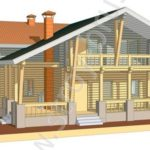 Проект деревянного дома Штандарт