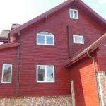 Наружная покраска деревянного дома в Москве и Московской области