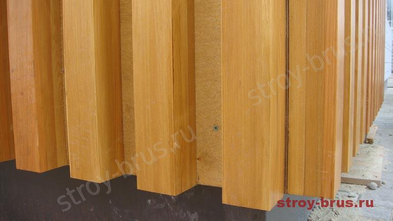 Покраска фасада деревянного дома цены