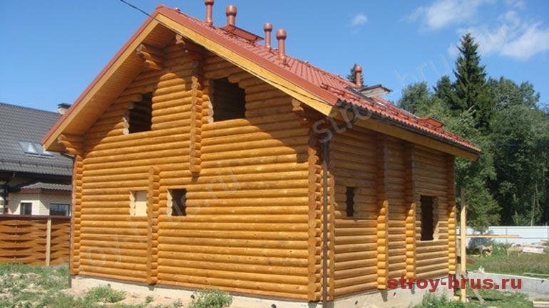 Технологические особенности покраски фасада дома из дерева
