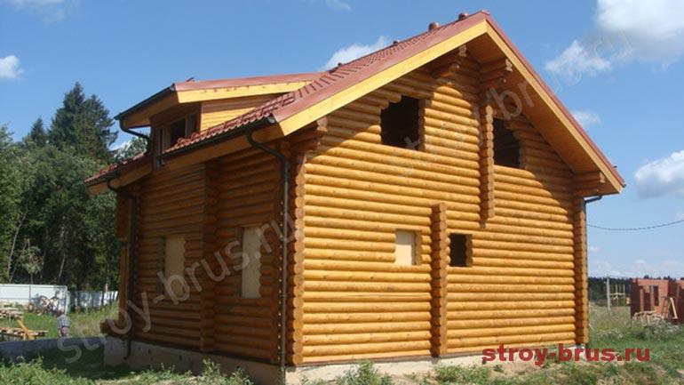 Какие стадии процесса покраски фасада деревянного дома