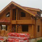 Дом из оцилиндрованного бревна – отличное решение для тех, кто заботится о своем здоровье