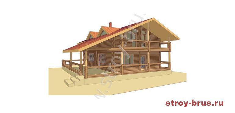 Проект дома Дипломат