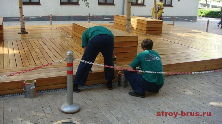 Как делается реконструкция деревянных конструкций