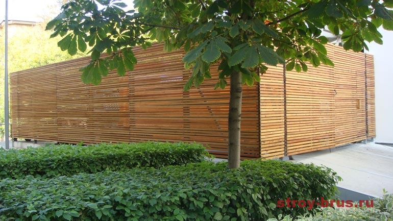 Пример деревянной конструкции после реконструкции