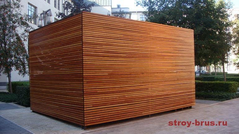 Фотографии деревянных конструкций после реконструкции