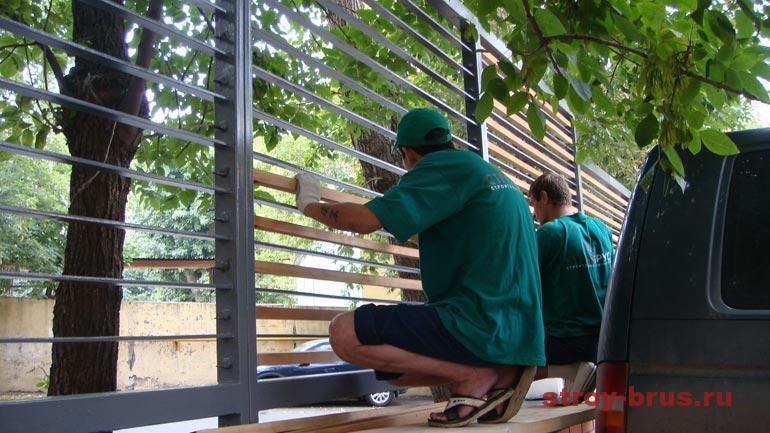 Фото реконструкции деревянных конструкций компанией СтройБрус